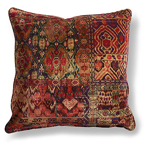 Rio 20x20 Pillow, Red/Multi