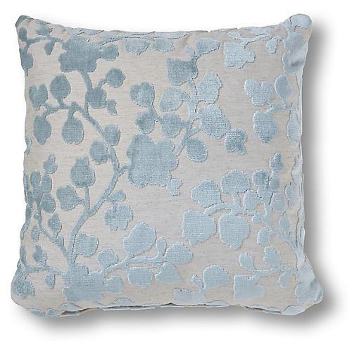 Flora 20x20 Pillow, Mist
