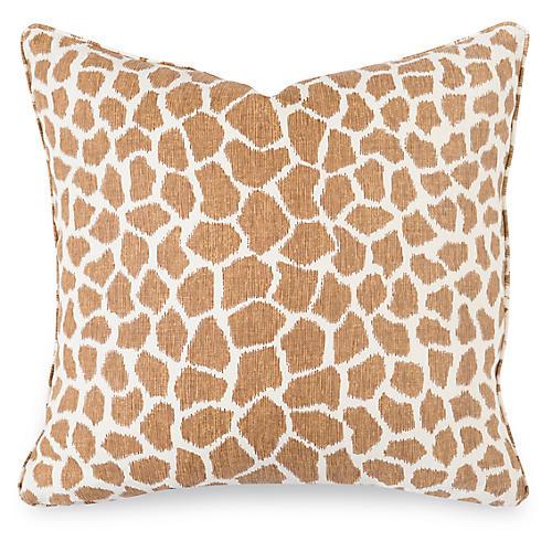 Calliope 20x20 Pillow, Tan Linen