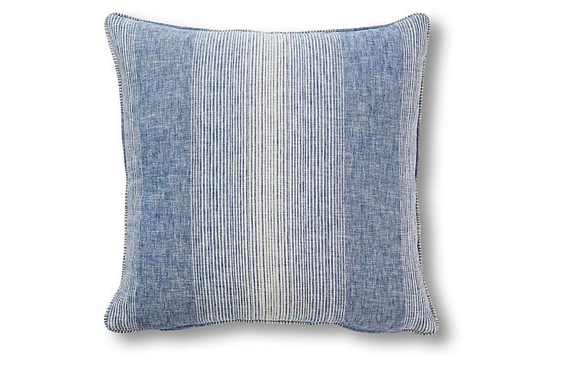 Anna 20x20 Pillow, Blue