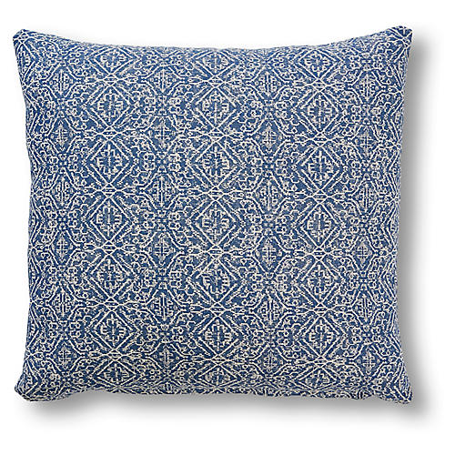 Taylor 20x20 Pillow, Indigo