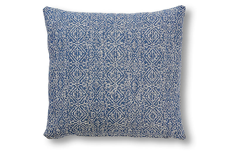 Taylor 20x20 Pillow, Blue