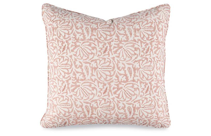 Katie 20x20 Pillow, Petal