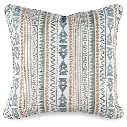 Quinn 20x20 Pillow, Rain