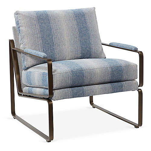 Henry Chair, Blue