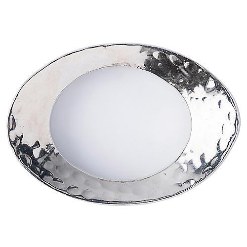 Puro Napkin Ring, Silver