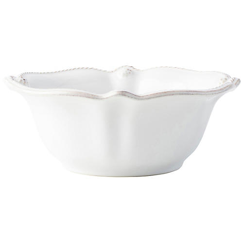 Berry & Thread Cereal Bowl, Whitewash