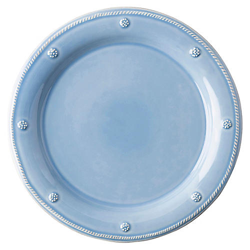 Berry & Thread Dinner Plate, Chambray