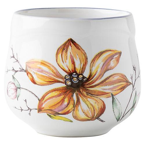 Floretta Cappuccino Cup, White/Multi