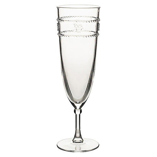 Isabella Acrylic Flute, Clear