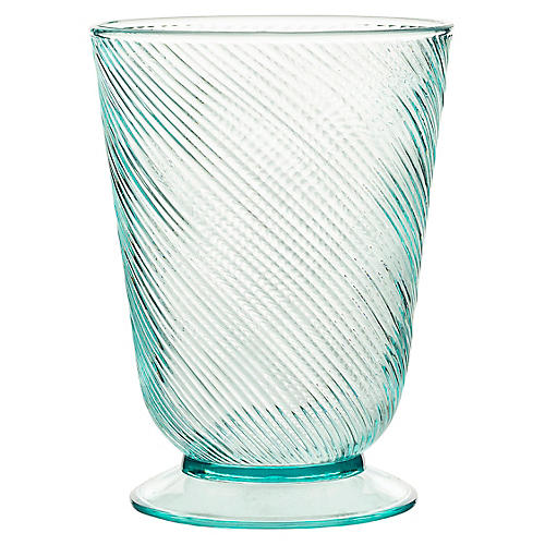 Arabella Small Acrylic Tumbler, Sea Foam