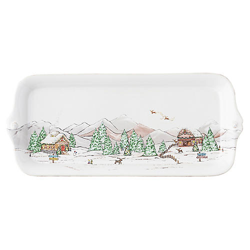 Berry & Thread Hostess Tray, White/Multi