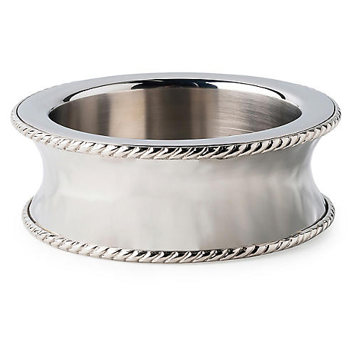 Graham Wine Coaster, Silver