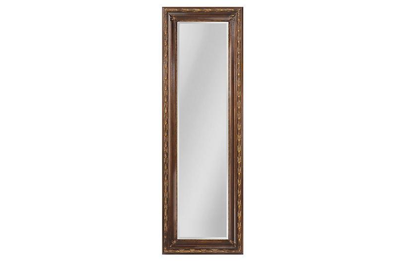 Sontag Oversize Mirror, Bronze/Gold
