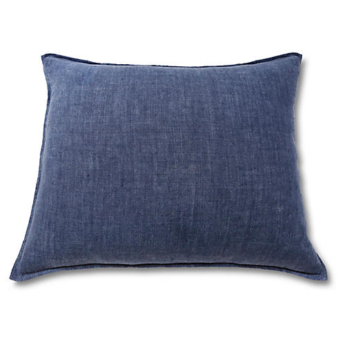 Montauk 28x36 Pillow, Indigo
