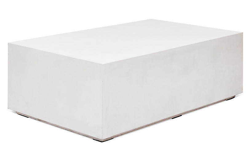 Iker Coffee Table, Ivory