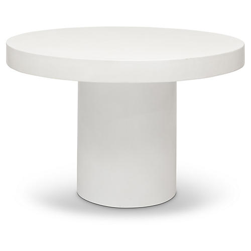 Juliana Dining Table, Ivory