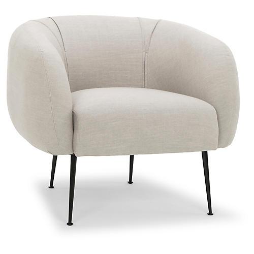 Montserrat Accent Chair, Salt