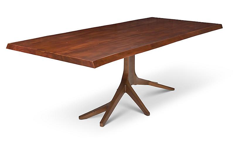 Rafe Dining Table, Mahogany