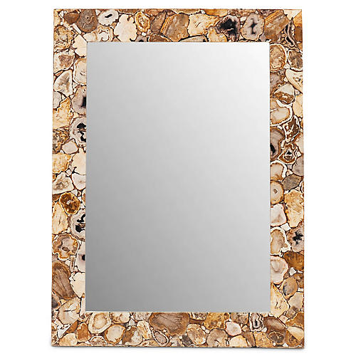 Mendoza Wall Mirror, Natural