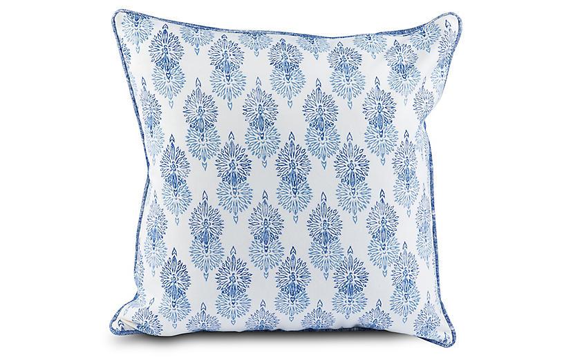 Briv 20x20 Pillow, Blue