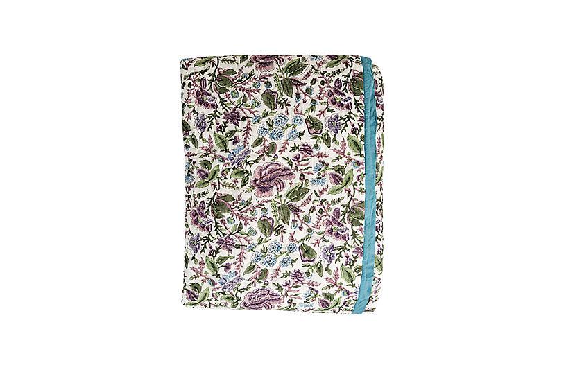 Paradise Quilt, Purple/Multi
