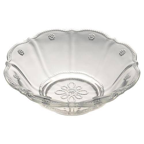 Colette Dessert Bowl, Clear