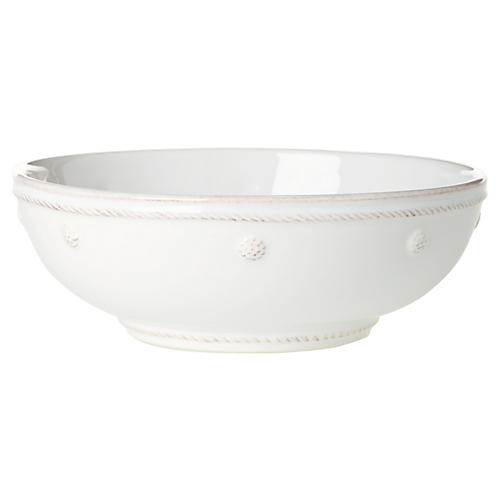 Berry & Thread Coupe Pasta Bowl, White