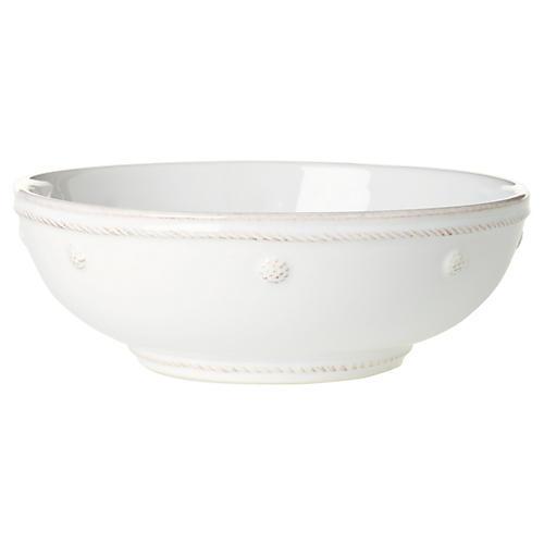 Berry & Thread Coupe Pasta Bowl, White