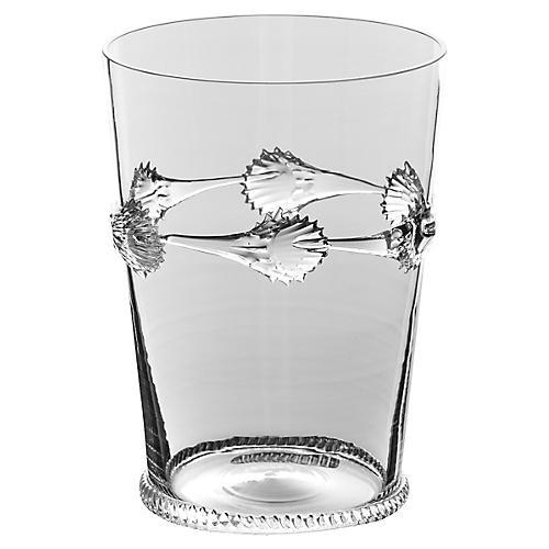 "6"" Ines Vase, Clear"