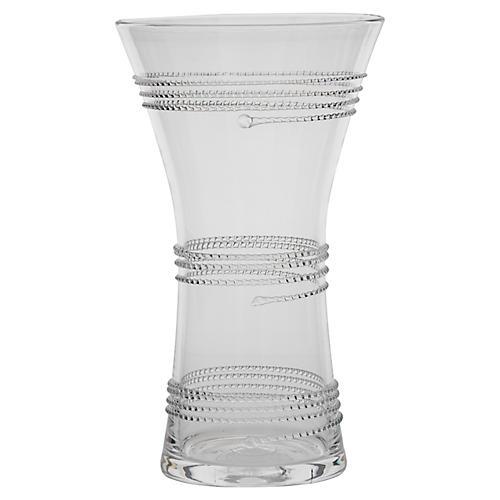 """8"""" Ella Corset Vase, Clear"""