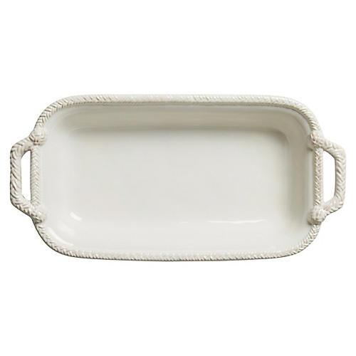 Le Panier Shallow Baker, White