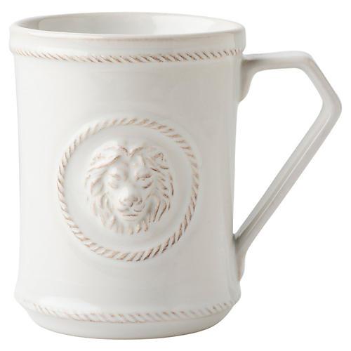 Berry & Thread Courage Mug, White