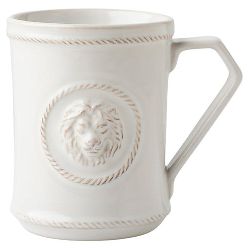 Berry & Thread Courage Mug, White