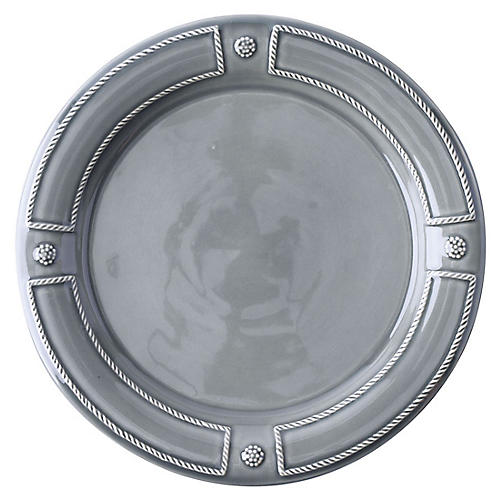 Berry & Thread Dinner Plate, Gray