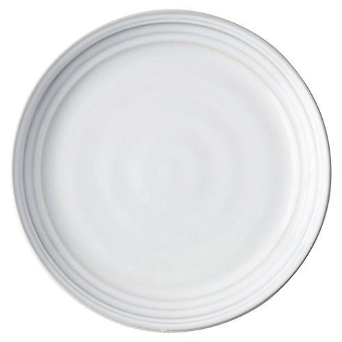Bilbao Cocktail Plate, White Truffle