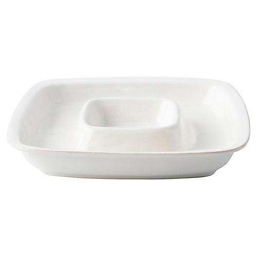 Puro Serving Dish, White
