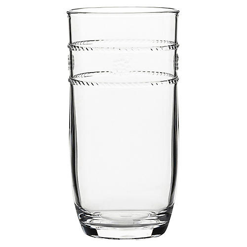 Isabella Acrylic Large Tumbler, Clear