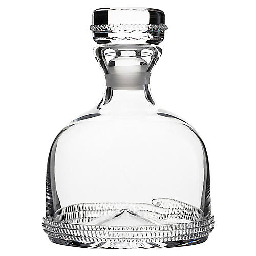 Dean Whiskey Decanter, Clear