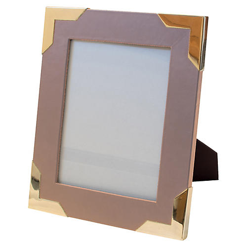 Derby Frame, Blush/Brass
