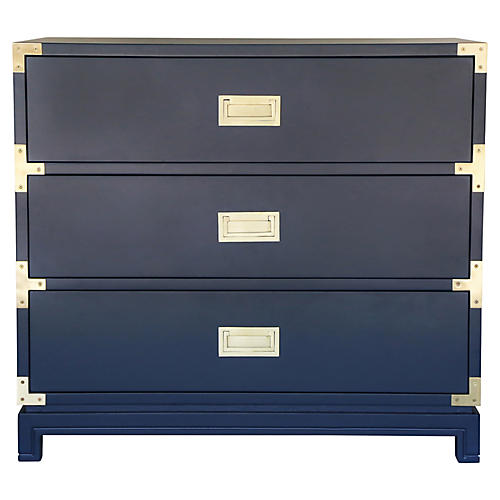 Carlyle Campaign Dresser, Navy