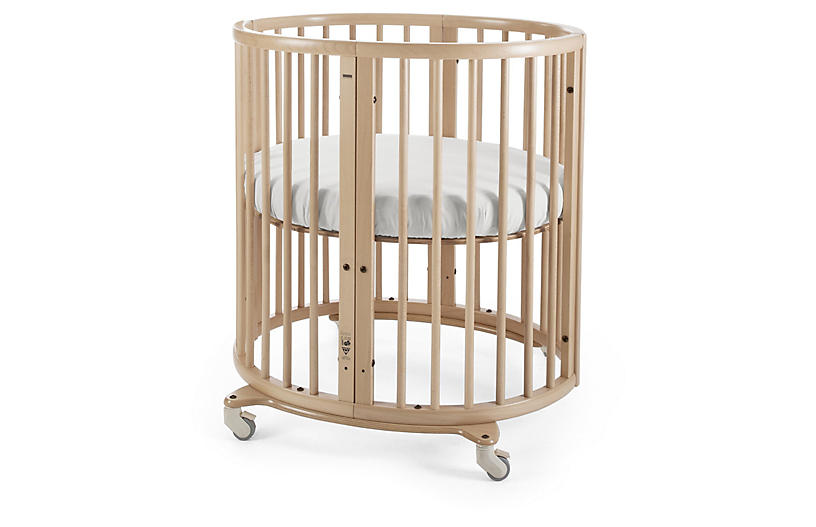 Sleepi Mini Crib, Natural