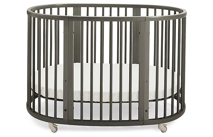 Sleepi Crib, Hazy Gray
