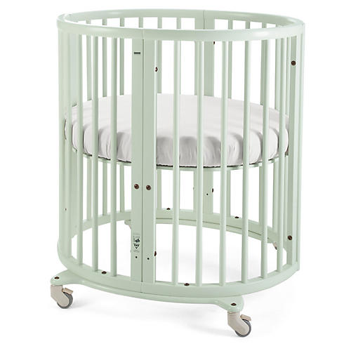 Sleepi Mini Crib, Mint Green
