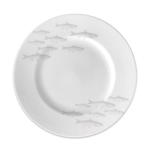 School of Fish Dinner Plate, Mist