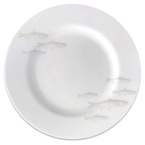 School of Fish Salad Plate, Mist