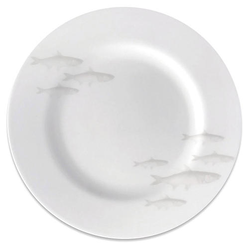 School of Fish Salad Plate, Mist