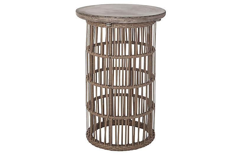 Refuge Side Table, Gray