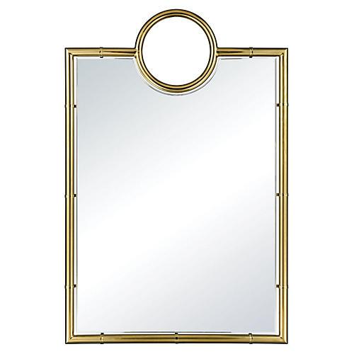 Cowan Oversize Wall Mirror, Gold