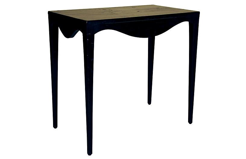 Elaine Side Table, Black